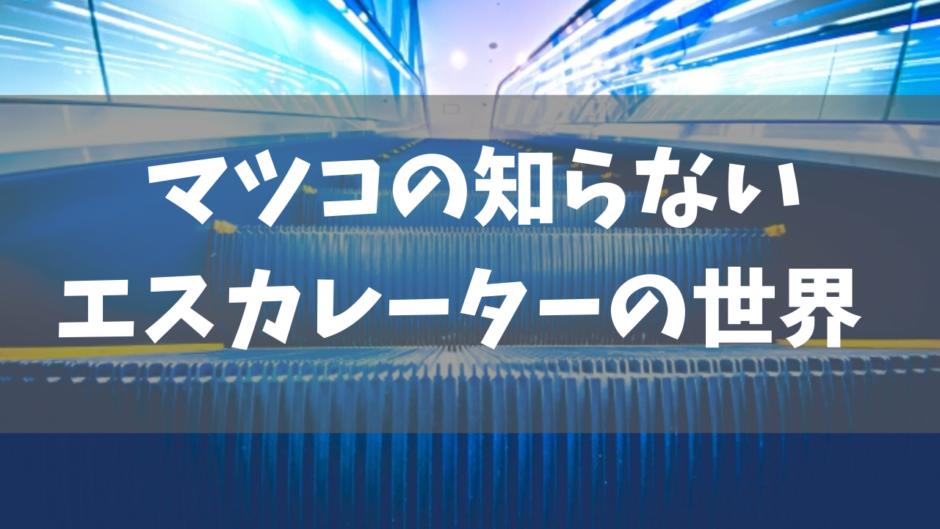 マツコの知らない田村美葉のおすすめエスカレーター